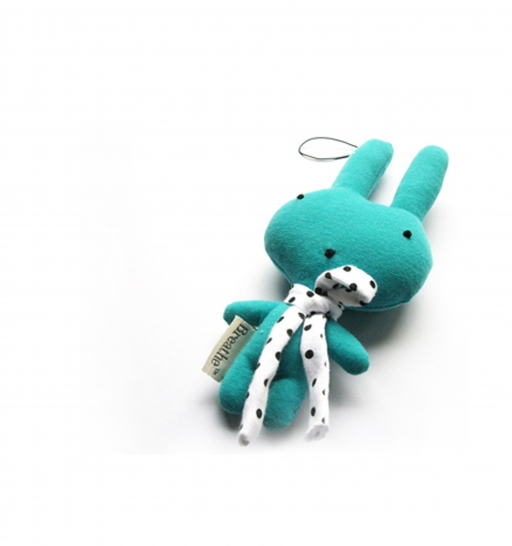 Breathe™ Bunnie Sachet Cyan